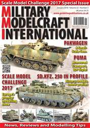 Military Modelcraft International issue January 2018