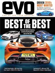 Evo issue Car Of The Year 2017