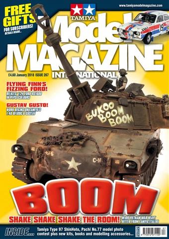 Tamiya Model Magazine issue 267 January 2018