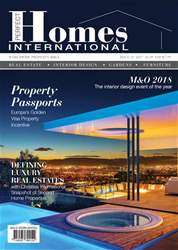 Perfect Homes International Magazine  issue Perfect Homes International Magazine