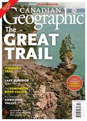Canadian Geographic issue January/February 2018