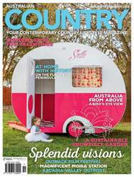 Australian Country Magazine Cover
