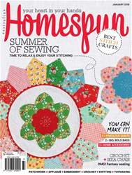 Homespun issue 19.1 Jan 2018