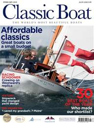 Classic Boat issue February 2018