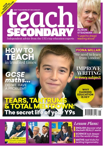 Teach Secondary issue V.7 No.1