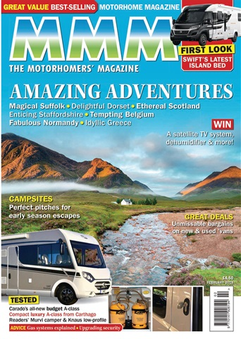 MMM issue Amazing Adventures issue - February 2018