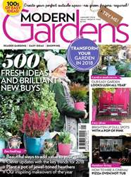 Modern Gardens issue January 2018
