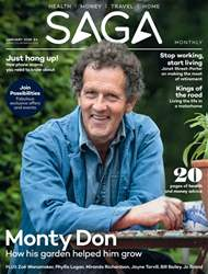 Saga Magazine issue January 2018