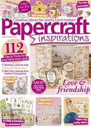 Papercraft Inspirations issue February 2018