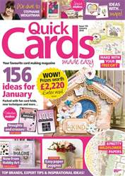 Quick Cards Made Easy issue January 2018
