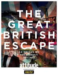 THE GREAT BRITISH ESCAPE issue THE GREAT BRITISH ESCAPE
