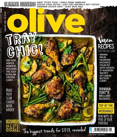 Olive Magazine issue January 2018