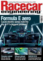 Racecar Engineering issue February 2018