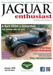 Jaguar Enthusiast issue January 18