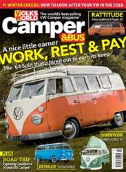 VW Camper Magazine Cover
