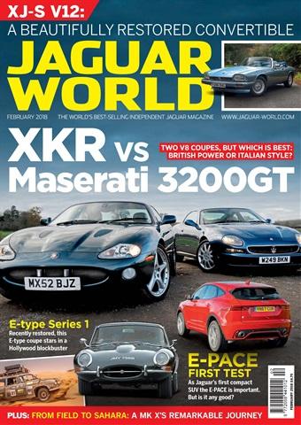 Jaguar World issue February 2018