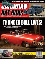 Canadian Hot Rods issue CHR feb/mar 2018