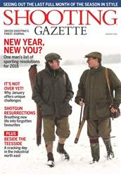 Shooting Gazette issue January 2018