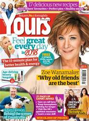 Yours Magazine Cover