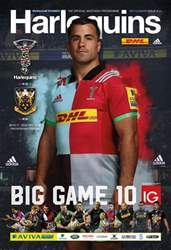 Harlequins V Northampton Saints - BIG GAME 10 issue Harlequins V Northampton Saints - BIG GAME 10