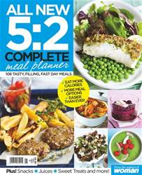 Woman Special Series issue 5:2 Diet Meal Planner