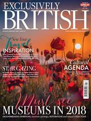 Exclusively British issue Jan/Feb 2018