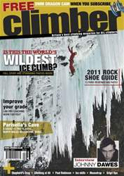 Climber Apr11 issue Climber Apr11