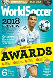 World Soccer issue January 2018