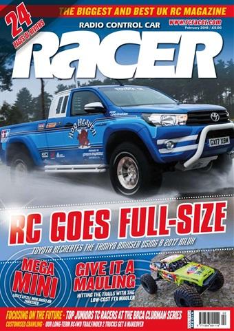 Radio Control Car Racer issue February 2018