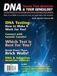 DNA & Your Genealogy issue DNA & Your Genealogy