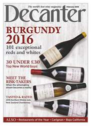 Decanter issue February 2018