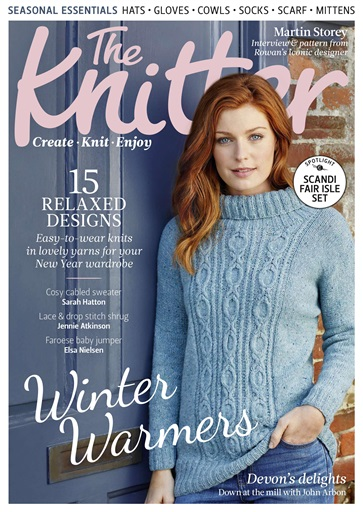 The Knitter Magazine Issue 119 Subscriptions Pocketmags