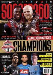 Soccer 360 issue Jan / Feb 2018