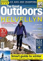 TGO - The Great Outdoors Magazine issue February 2018