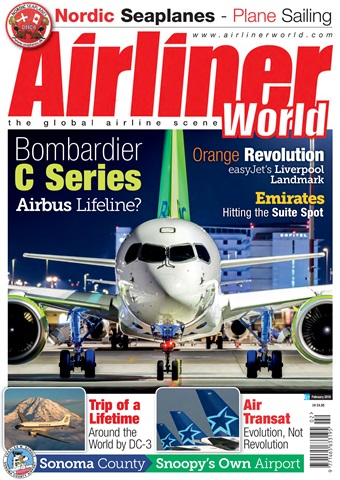 Airliner World issue   February 2018