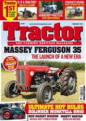 Tractor & Farming Heritage Magazine issue February 2018