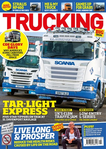 Trucking Magazine issue February 2018
