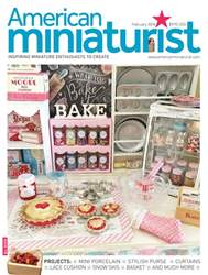 American Miniaturist issue February 2018