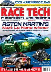 Race Tech issue Race Tech Issue 207