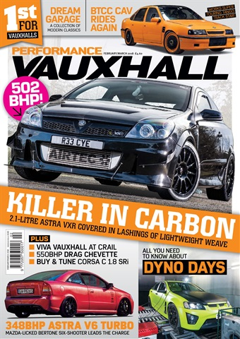 Performance Vauxhall issue Feb/Mar 2018