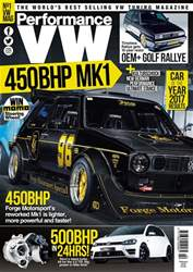 Performance VW issue February 2018