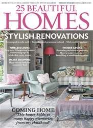 25 Beautiful Homes issue February 2018