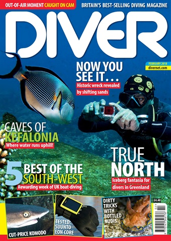 DIVER issue FEBRUARY 2018