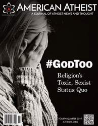 American Atheist issue Fourth Quarter 2017