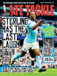 Late Tackle Football Magazine issue Jan/Feb 2018