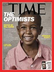 Time Magazine issue 15th January 2018