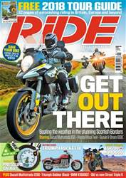 Ride issue March 2018
