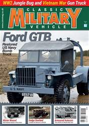 Classic Military Vehicle issue   February 2018
