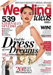 Wedding Ideas magazine issue Valentines 2018