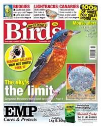 Cage & Aviary Birds Magazine Cover
